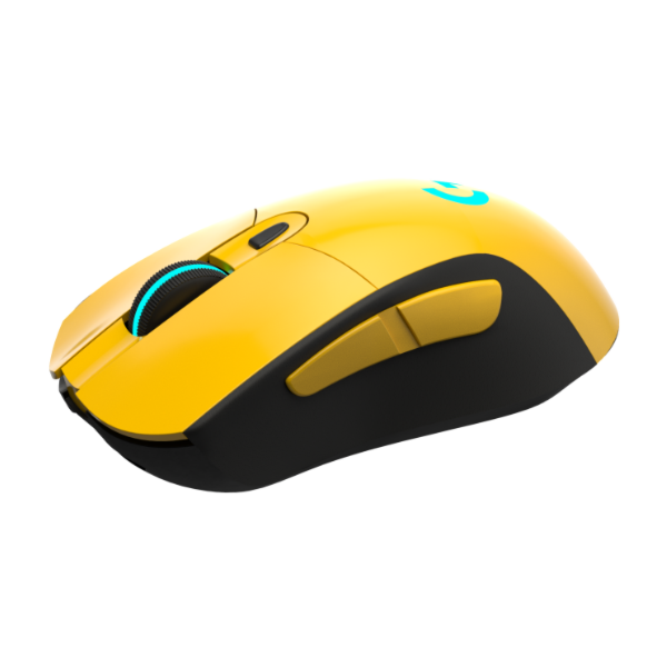 Logitech G703 Wireless Gaming Mouse Yellow Glossy - Craft by Merlin